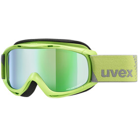 UVEX Slider FM Goggles Kinder lightgreen/mirror green